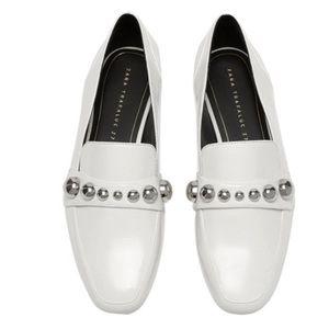 Zara studded loafers